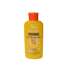 Lady Diana Face and Body Lotion with Sunblock, UV, SPF 40 200ml