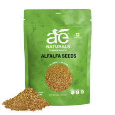 AE NATURALS High Quality Alfalfa Lucerne Seeds 800g