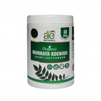 AE NATURALS Pure Organic Murraya koenigii-Curry Leaf Powder 250g