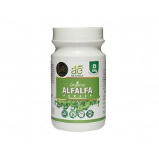 AE NATURALS Pure Organic Alfalfa Powder Rich In Chlorophyll 100g