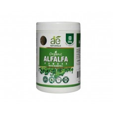 AE NATURALS Pure Organic Alfalfa Powder Rich In Chlorophyll 250g