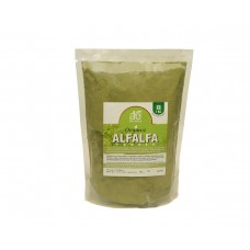 AE NATURALS Pure Organic Alfalfa Powder Rich In Chlorophyll 1Kg Pack