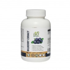 AE NATURALS Pure Bilberry Exract Capsules For Eye Health 90 Caps