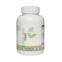AE NATURALS Green Apple Extract Capsules For Glowing Skin 60 Caps