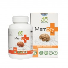 AE NATURALS Memory Plus Capsules Herbal Suppliment 90 Veg Caps