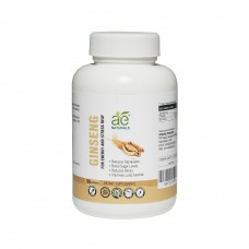 AE NATURALS Pure Ginseng Capsules For Energy And Stress Relief 90 Veg Caps