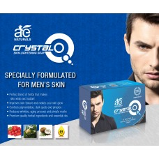 AE NATURALS Crystal Q Skin Whitening Soap For Men  135g