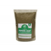 AE NATURALS Pure Organic Papaya Leaf Powder 1 Kg Pack
