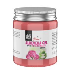 AE Naturals Pure Aloe Vera Gel With Rose Extracts 200ml