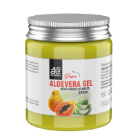 AE Naturals Pure Aloe Vera Gel With Papaya Extracts 200ml