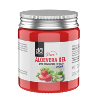 AE Naturals Pure Aloe Vera Gel With Strawberry Extracts 200ml