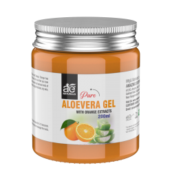 AE Naturals Pure Aloe Vera Gel With Orange Extracts 200ml