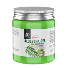 AE Naturals Pure Aloe Vera Gel With Neem Extracts 200ml