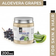 AE Naturals Pure Aloe vera Gel With Grapes Extracts 200ml