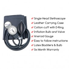 Dr.Odin Aneroid Sphygmomanometer With Stethoscope