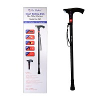 Dr.Odin Smart Walking Stick With Fm Radio , Siren & Torch 09A
