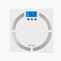 Dr.Odin  Body Fat Analyzer With Latest BIA Technology (CF-570BT) White