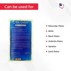 Dr Odin.Transparent Hot & Cool Gel Pack For Pain Relief