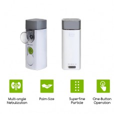 Dr Odin Portable Mesh Nebulizer Re-Chargeable Machine for Kids and Adults