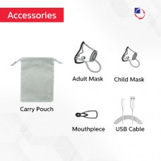 Dr. Odin Mesh Nebulizer Machine Rechargeable with Adult and Kid