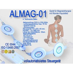 ELAMED Almag 01 Electro Magnetic Field Electrotherapy(PEMF) device