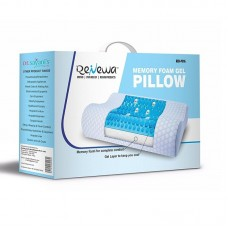 Renewa Memory Foam Gel Pillow, Queen Size