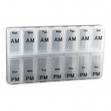 Renewa AM/PM Weekly Pill Box