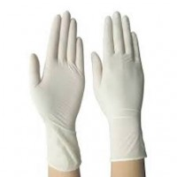 Latex Examination Gloves Sara Care (Pack of 100 Pcs)