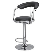 Hydraulic Stool Chair with Back and Arm rest