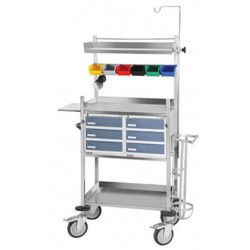 Tychemed Crash Cart for Hospitals