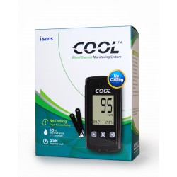 i SENS Cool Blood Glucose Monitoring System (Glucometer)