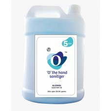 """O"" Hand Sanitizer - 5 Liters (Alcohol Contains 80%)"