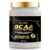 Nutrafirst BCAA Workout Proteins with Chocolate Flavored - 500 gms (Pack of 1)