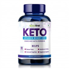 NutraFirst Keto Natural Advanced Weight Management Supplement Extract 60 Capsules (Pack of 1)