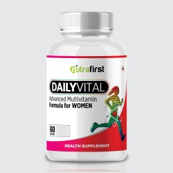 Nutrafirst Daily Vital Advance Multivitamin For Women| 60 Capsules 1000Mg (Pack of 1)