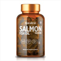 Nutrafirst Salmon Fish oil Omega-3 Fatty Acids With 1000 mg (Pack of 1)