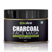 Nutrafirst Charcoal Mask for Blackhead Removal & Deep Pore Cleansing 100gm (Pack of 1)
