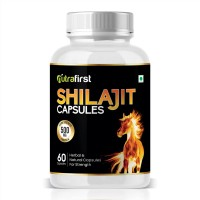 Nutrafirst Pure Shilajit Extract for strength & Energy - 60 Capsules (Pack of 1)