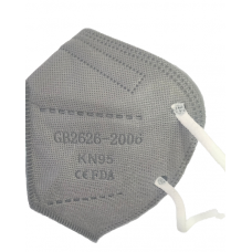 FDA Approved Zicomo KN95 Face Mask Grey  With Respirator (Pack Of 10)