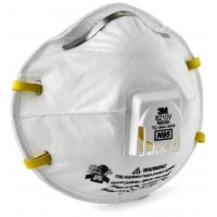 3M Particulate Respirator 8210V,  N95 Respiratory Protection 80 Each/Case