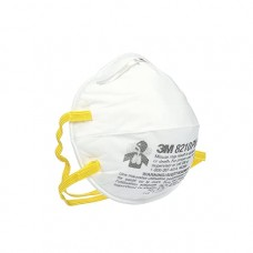 3M Personal Protective Equipment Particulate Respirator 8210, N95, Smoke, Dust, Grinding, Sanding, Sawing, Sweeping, 20/Box 160 EA/Case