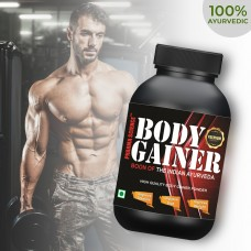 Pharma Science Body Gainer Ayurvedic Muscle Gainer Powder | Helps in Muscle & Weight Gain Recovery and Improves Performance