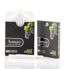 Aarogyam Herbals Tobacco and Nicotine Free Herbal Flavour Smokes For Relieving Stress - 10 Sticks in each Packet (BLACK GRAPES, 1 Packet)